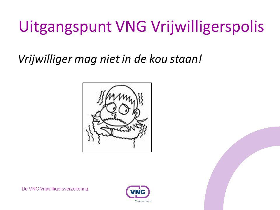 De VNG Vrijwilligersverzekering De Actie van uw gemeente: Verzeker alle vrijwilligers in Nederland.