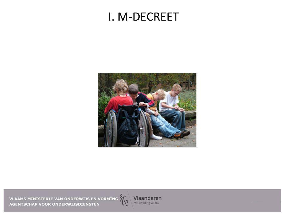 I. M-DECREET