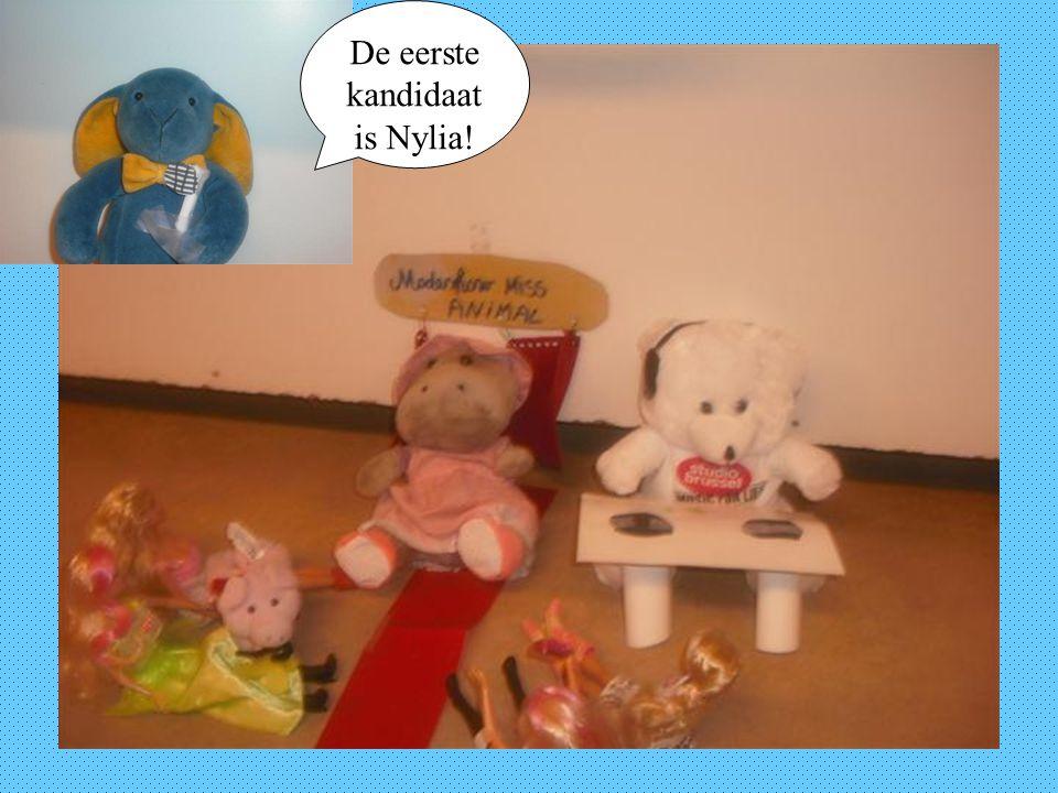 De eerste kandidaat is Nylia!