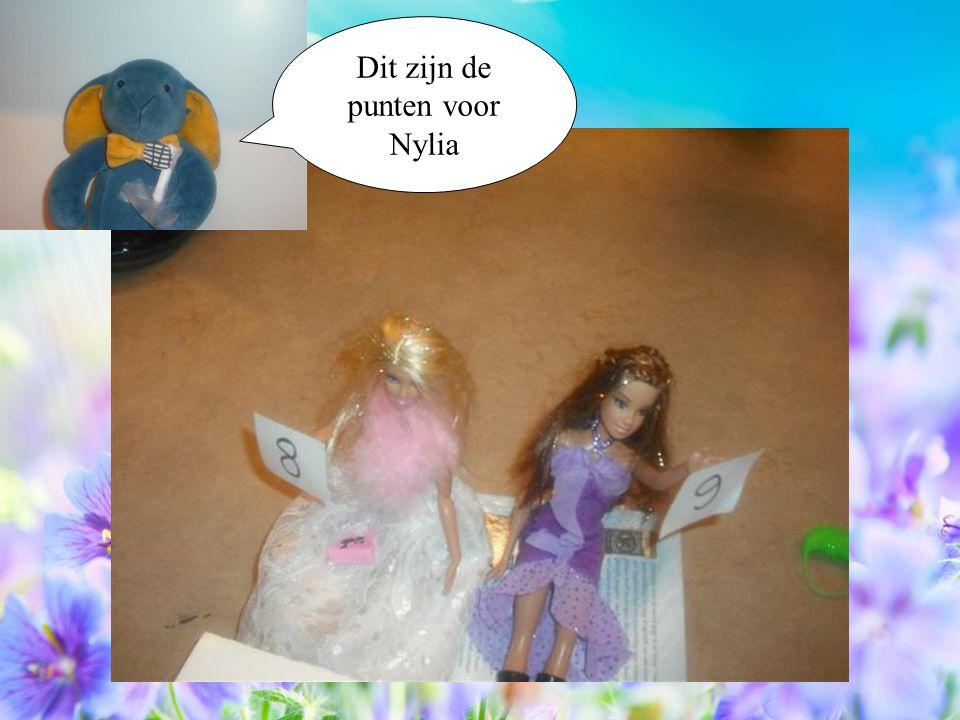 Dit zijn de punten voor Nylia