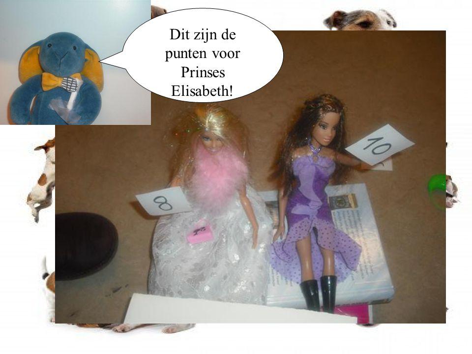De volgende kandidaat is Prinses Elisabeth