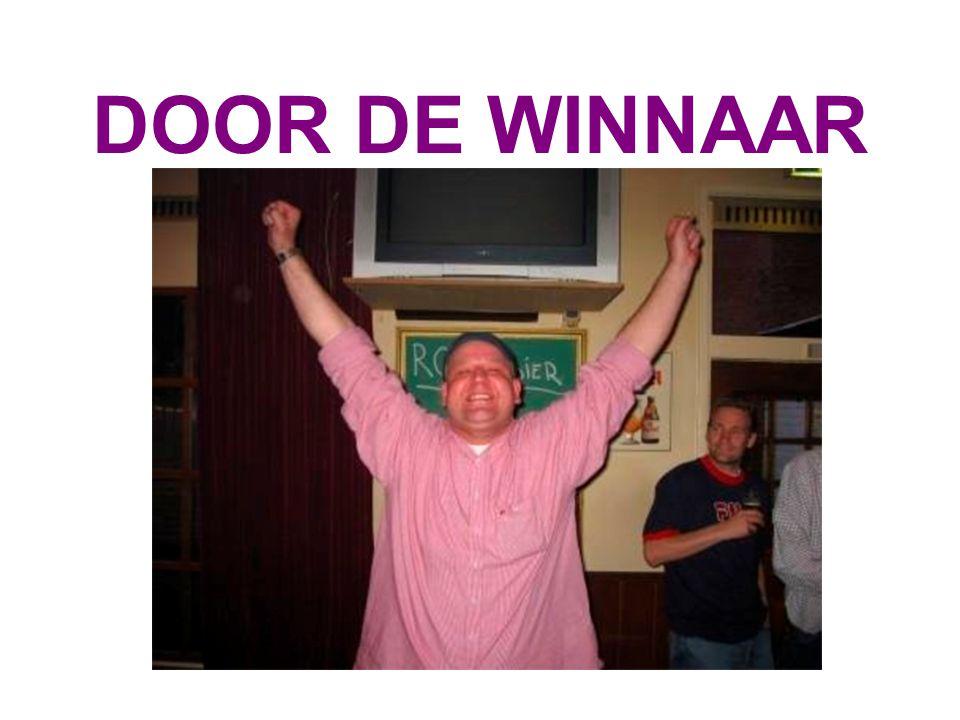 DOOR DE WINNAAR