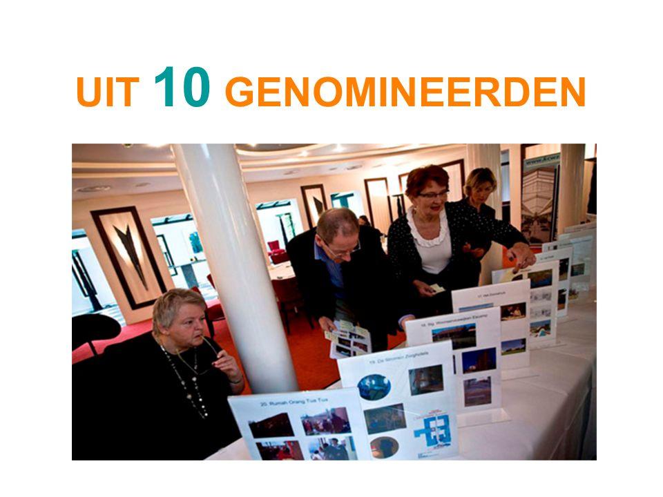 UIT 10 GENOMINEERDEN