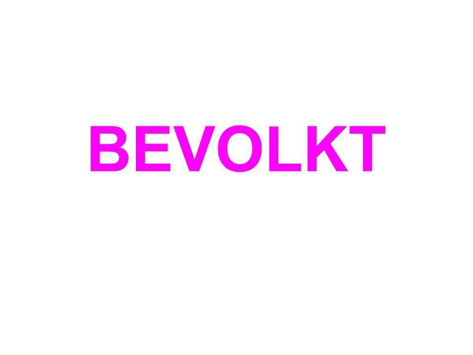 BEVOLKT