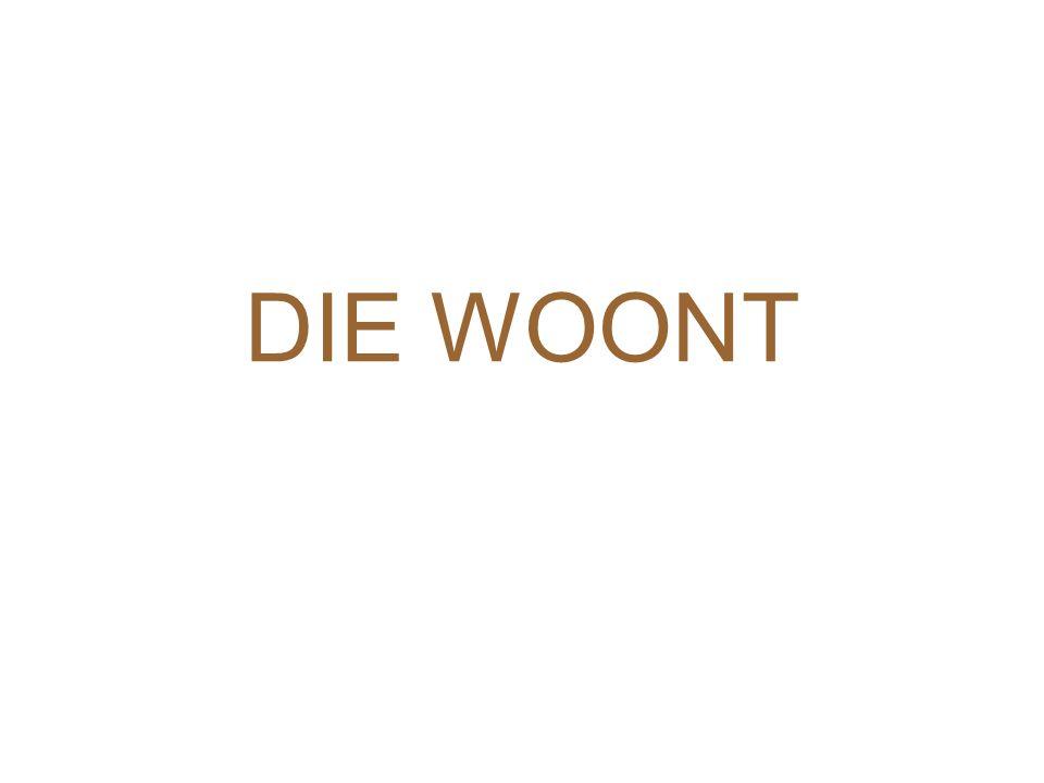 DIE WOONT