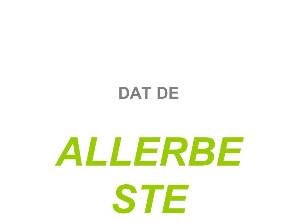DAT DE ALLERBE STE