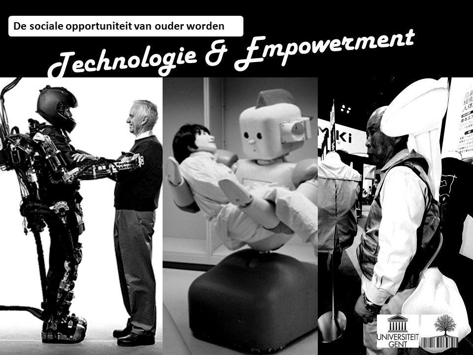 De sociale opportuniteit van ouder worden Technologie & Empowerment