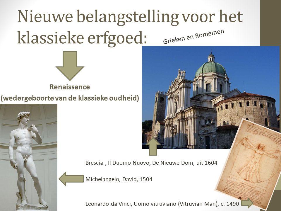 Architectuur en kunst De architectuur en kunst was op basis van de klassieke vormentaal.