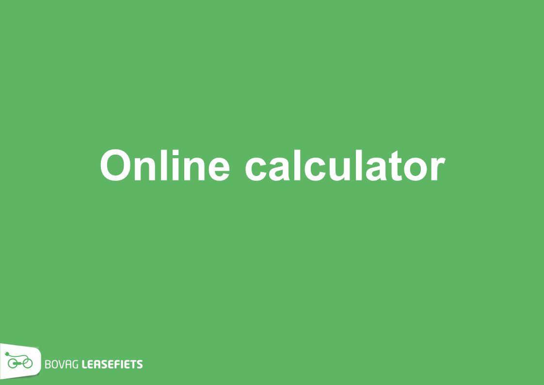 Online calculator
