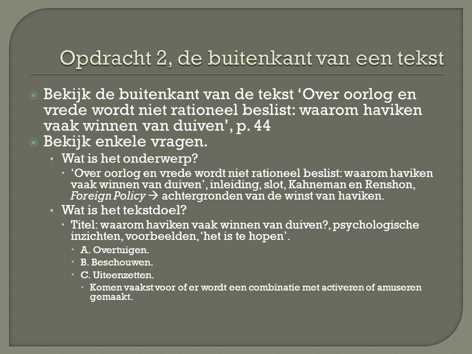  Maak bij 'Nederland bestaat niet meer' vraag 8, 9 en 10 op p.