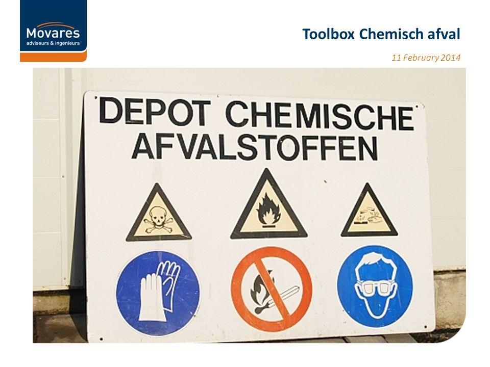 Vraag 1 Wie heeft er in zijn werk wel eens te maken met chemisch afval of verwacht er in de nabije toekomst mee te maken te krijgen.
