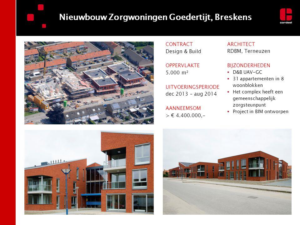 Renovatie Kantoor KSG (Damen), Vlissingen CONTRACT Design & Build OPPERVLAKTE Fase 1 3.440 m² UITVOERINGSPERIODE nov 2013 – jul 2014 AANNEEMSOM € 4.590.000,- ARCHITECT GROUP A, Rotterdam BIJZONDERHEDEN  D&B UAV-GC  Monumentaal pand  Gebouw operationeel tijdens uitvoering  Hoog afwerkingsniveau  Nieuw atrium en verbinding tussen gebouwen