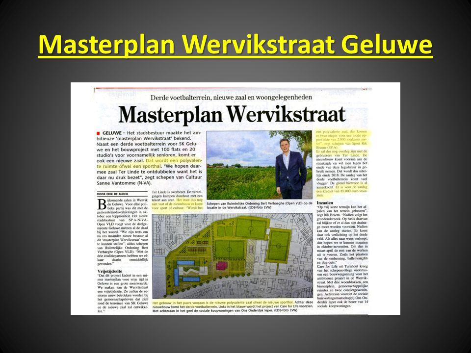 Masterplan Wervikstraat Geluwe