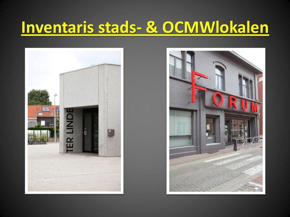 Inventaris stads- & OCMWlokalen