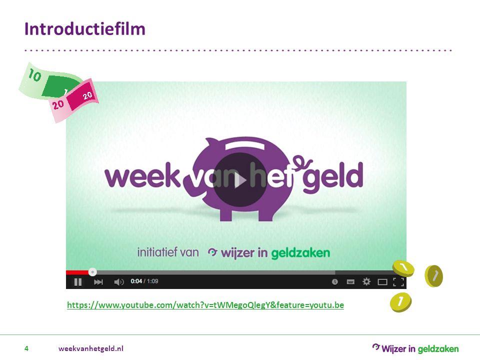 Vraag- en antwoordspel [eigen invulling] weekvanhetgeld.nl5 Wat weet je over geld.