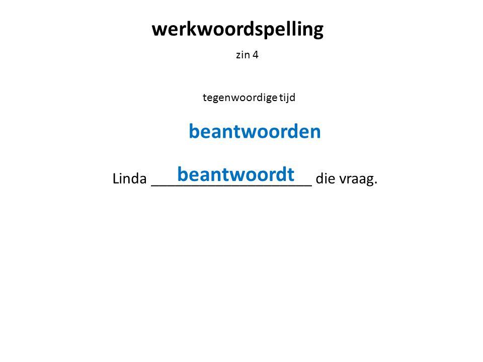 werkwoordspelling zin 5 verleden tijd Henk ______________________ op een mooie manier.
