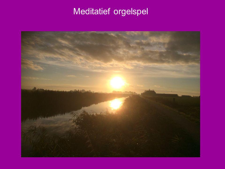 Meditatief orgelspel