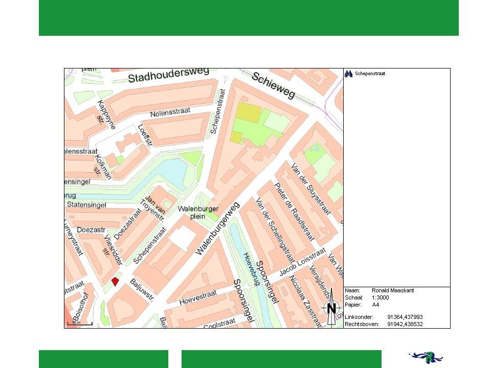 Schetsontwerp Schetsvoorstel (verkeer) 30km zone dus drempels, extra aandacht bij begin en einde Drempels relatief dicht op elkaar (onaantrekkelijk voor doorgaand verkeer) Aansluitingen verder uitwerken en 'knijpen' Extra fietsaansluiting bij Baljuwstraat