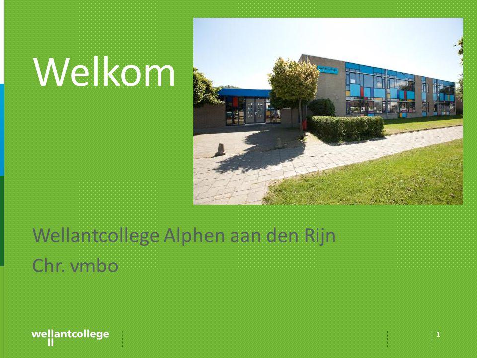 Wellantcollege Alphen aan den Rijn Chr. vmbo 1 Welkom