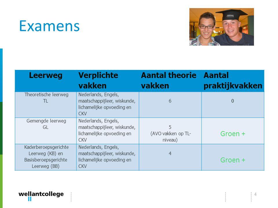 BASISSCHOOL VMBO BB VMBO KB VMBO GL/TL VMBO KBVMBO BB MBO Niveau 1MBO Niveau 3 of 4MBO Niveau 2 5Presentatie Wellantcollege Alphen a/d Rijn 2013-2014