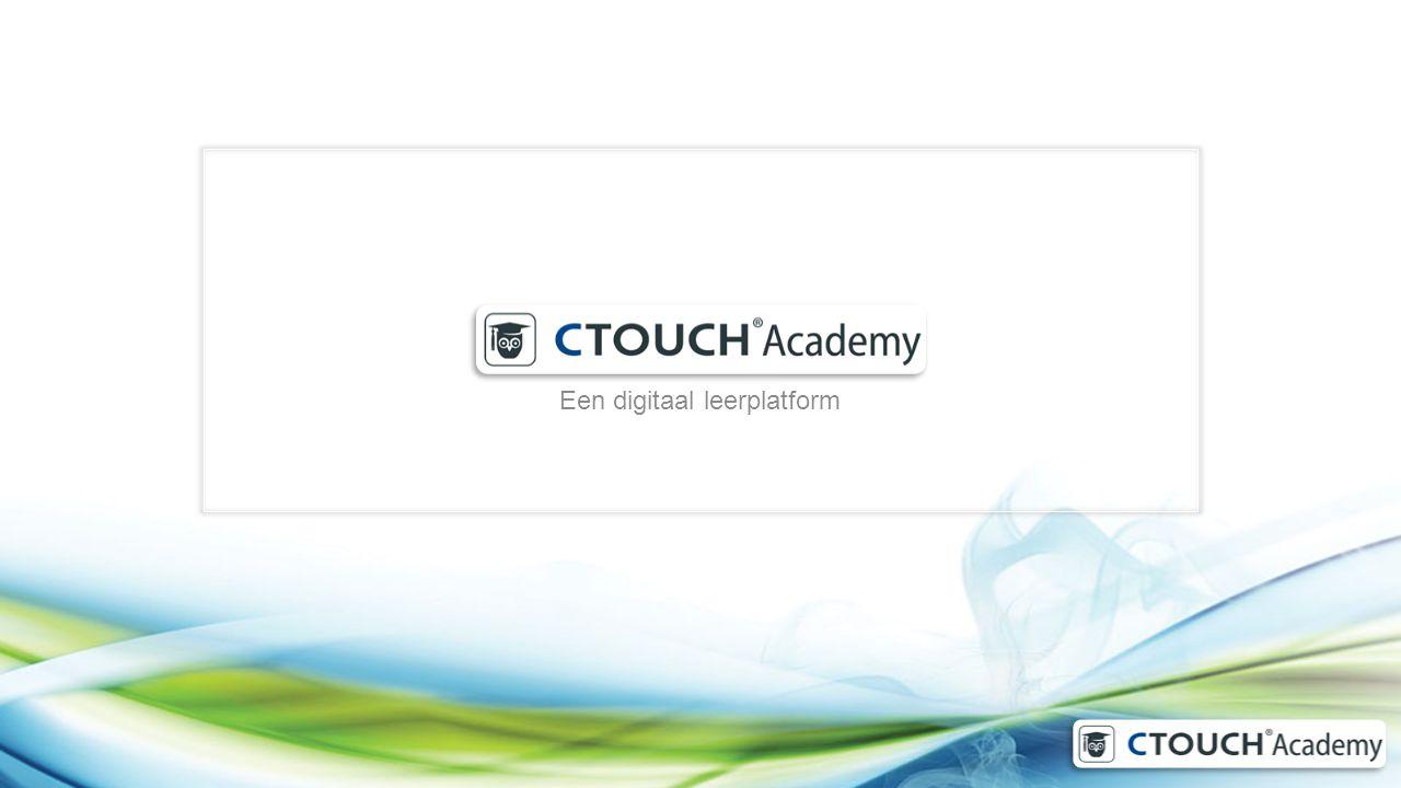 Waarom CTOUCH Academy Bewezen leerlijnen.