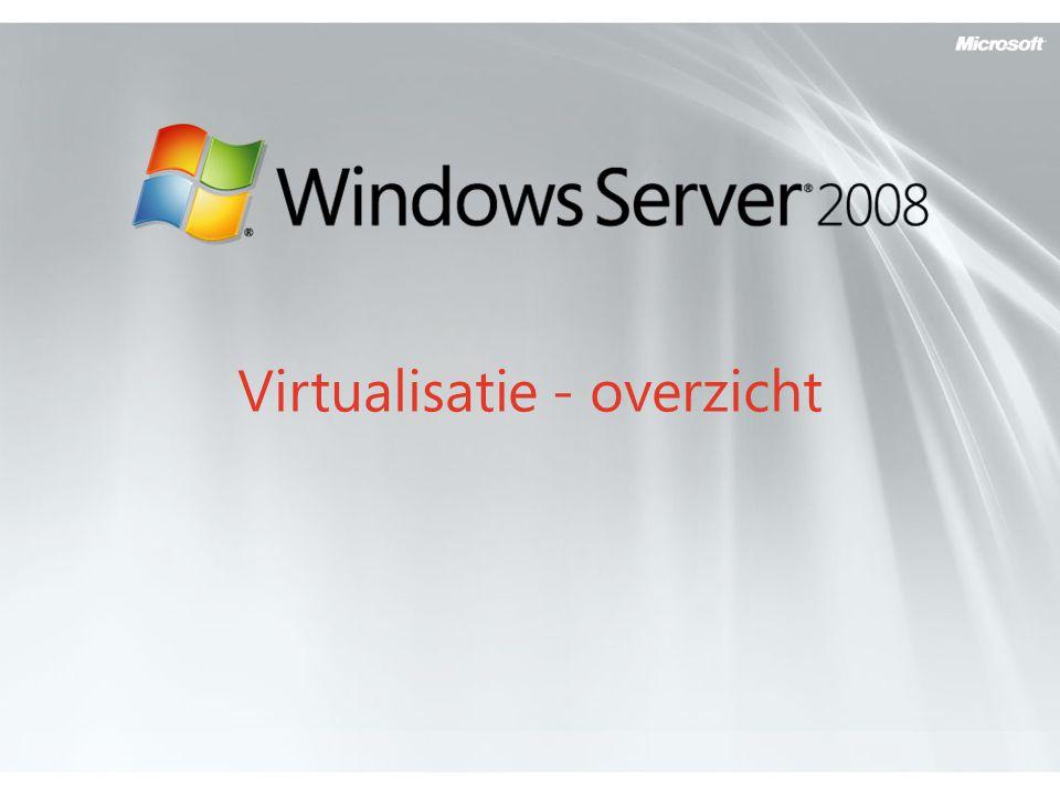 Virtualisatie - overzicht