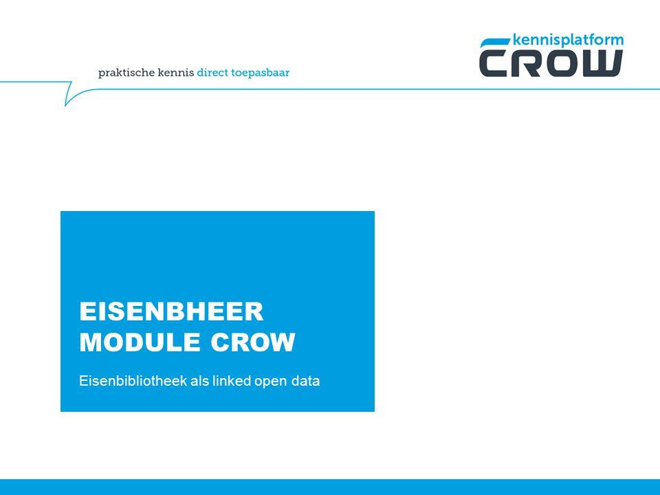 EISENBHEER MODULE CROW Eisenbibliotheek als linked open data
