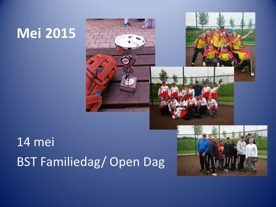 Mei 2015 14 mei BST Familiedag/ Open Dag