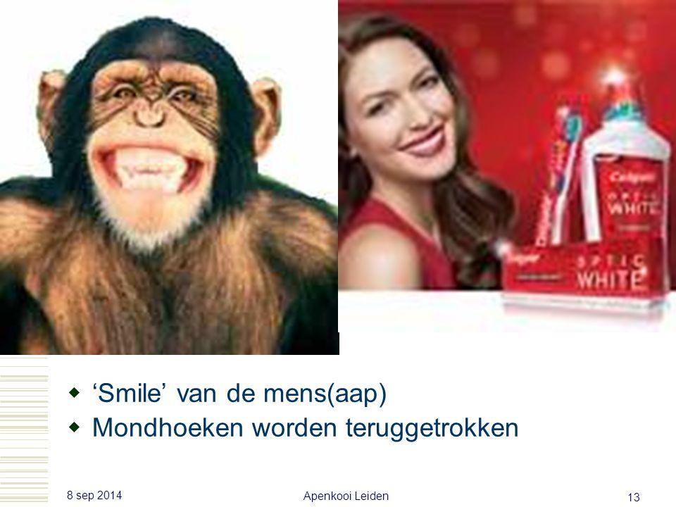 8 sep 2014 Apenkooi Leiden 12  'snarl' van de hond  Mondhoeken worden niet teruggetrokken