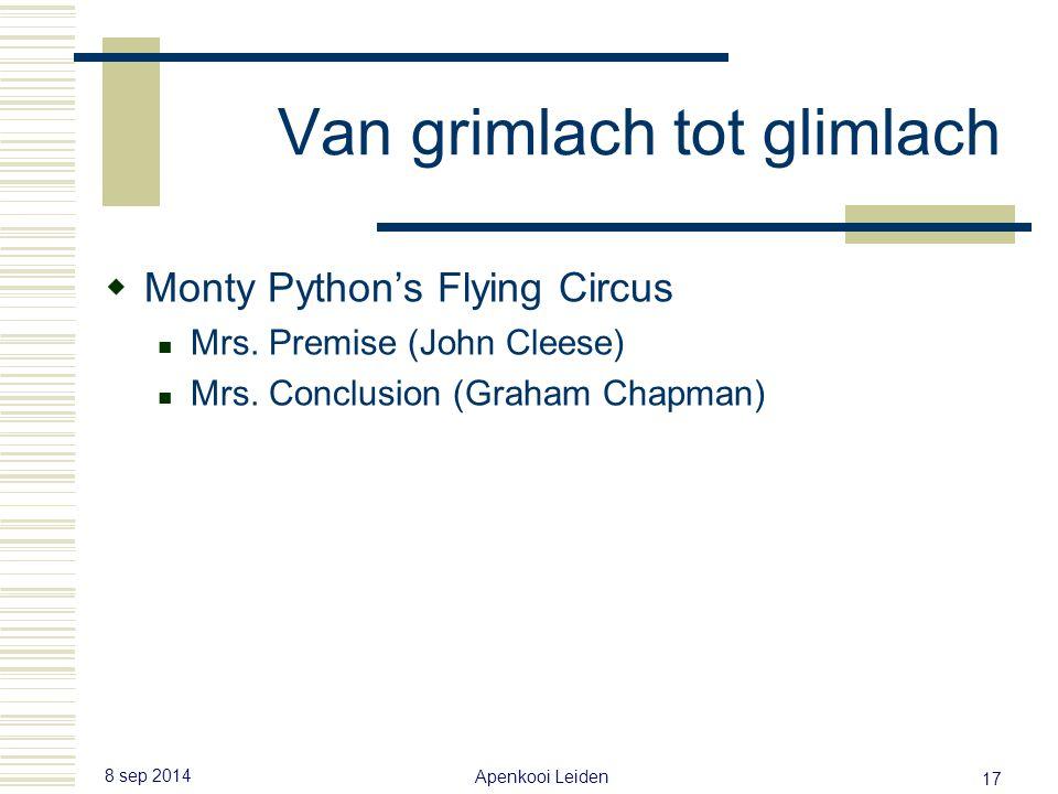 8 sep 2014 Apenkooi Leiden 16 Van grimlach tot glimlach  Hoeveel borsthaar denkt u dat deze spreker heeft.