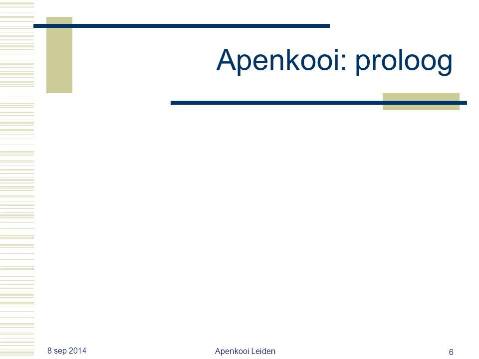 8 sep 2014 Apenkooi Leiden 5