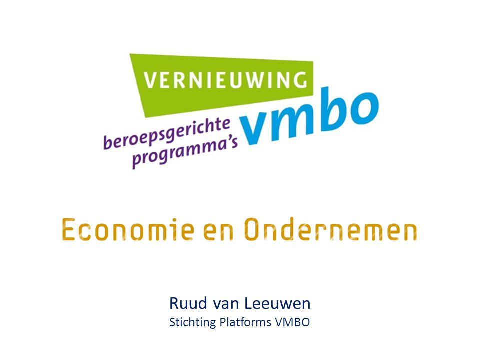 Ruud van Leeuwen Stichting Platforms VMBO