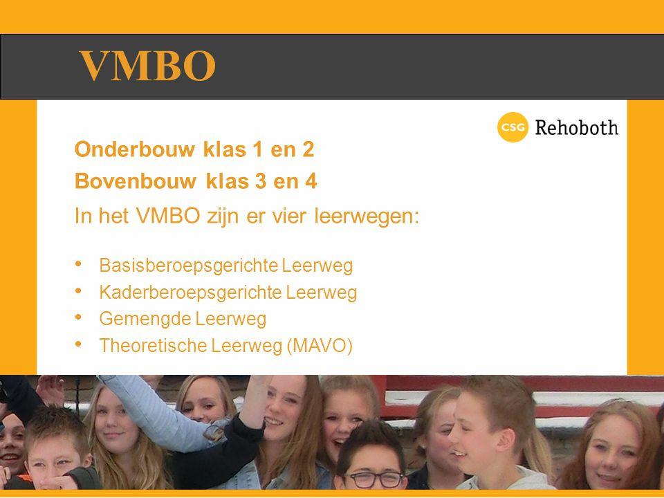 Leerjaar 1:Rehoboth Leerjaar 2:Rehoboth Leerjaar 3:Vervolgschool Leerjaar 4:Vervolgschool Met diploma naar MBO BASIS / KADERBEROEPS