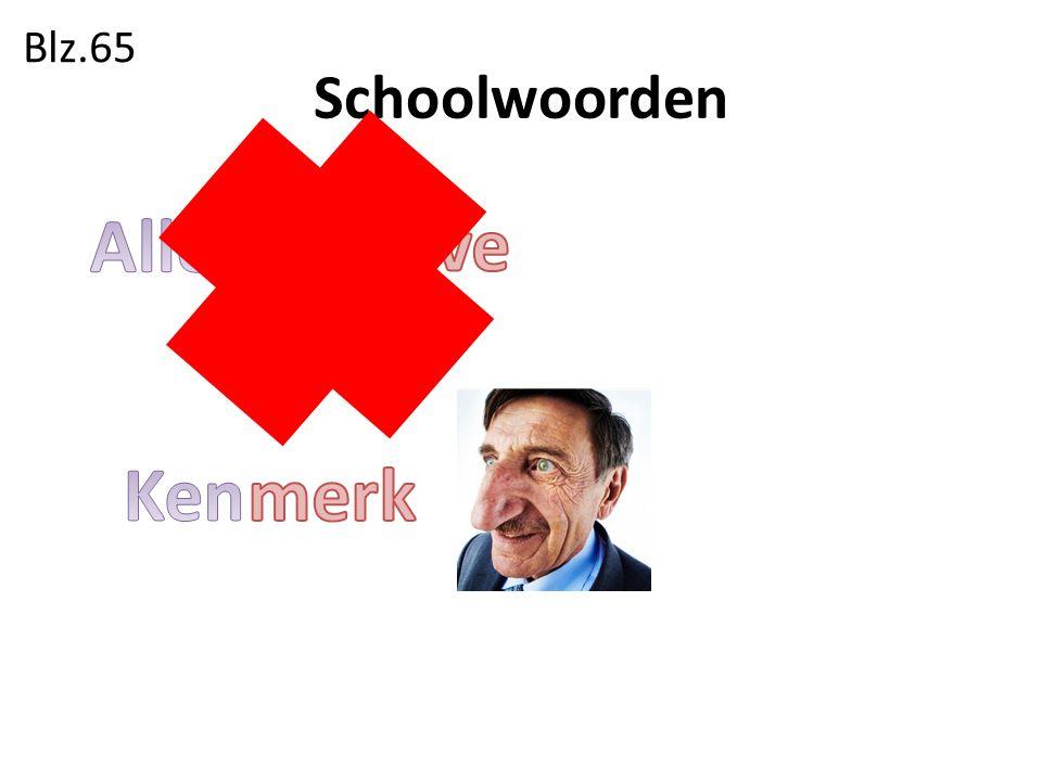Schoolwoorden Blz.65