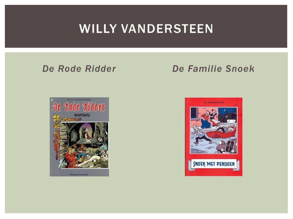 De Rode RidderDe Familie Snoek WILLY VANDERSTEEN