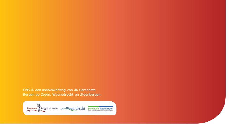 ONS is een samenwerking van de Gemeente Bergen op Zoom, Woensdrecht en Steenbergen.