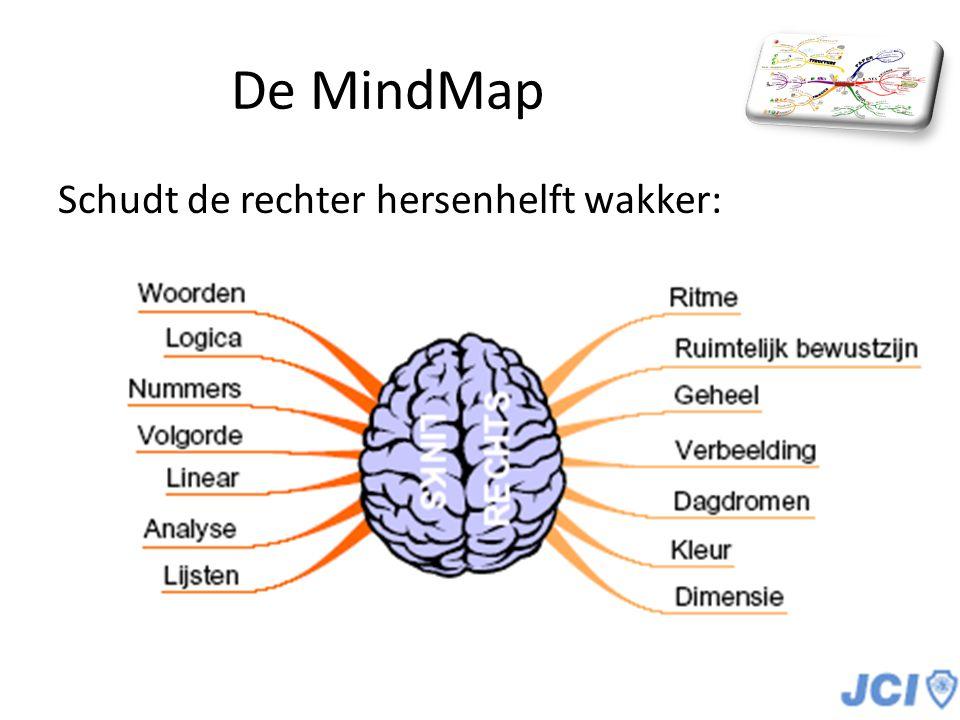 De MindMap Schudt de rechter hersenhelft wakker:
