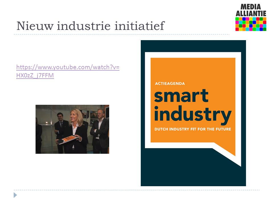 Nieuw industrie initiatief https://www.youtube.com/watch v= HX0zZ_j7FFM