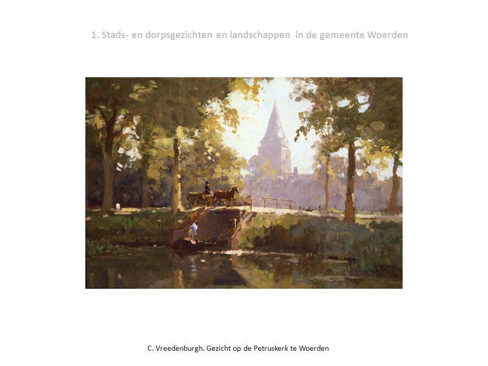 1.Stads- en dorpsgezichten en landschappen in de gemeente Woerden C.