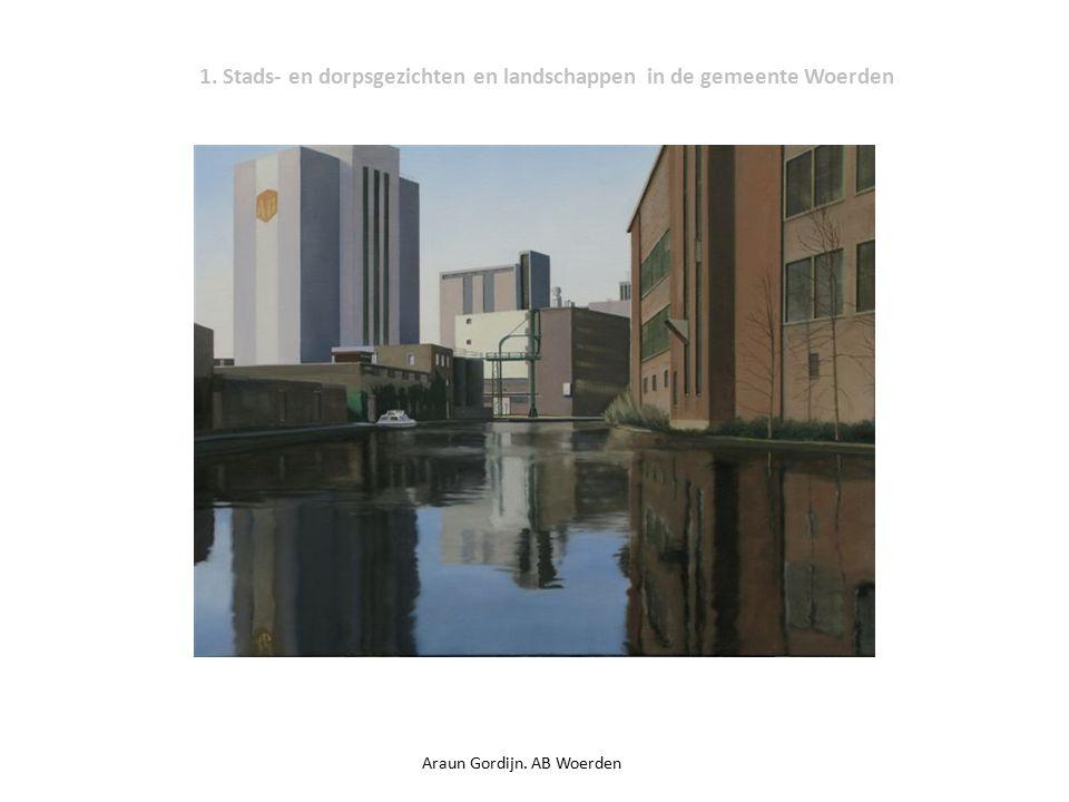 1. Stads- en dorpsgezichten en landschappen in de gemeente Woerden Araun Gordijn. AB Woerden