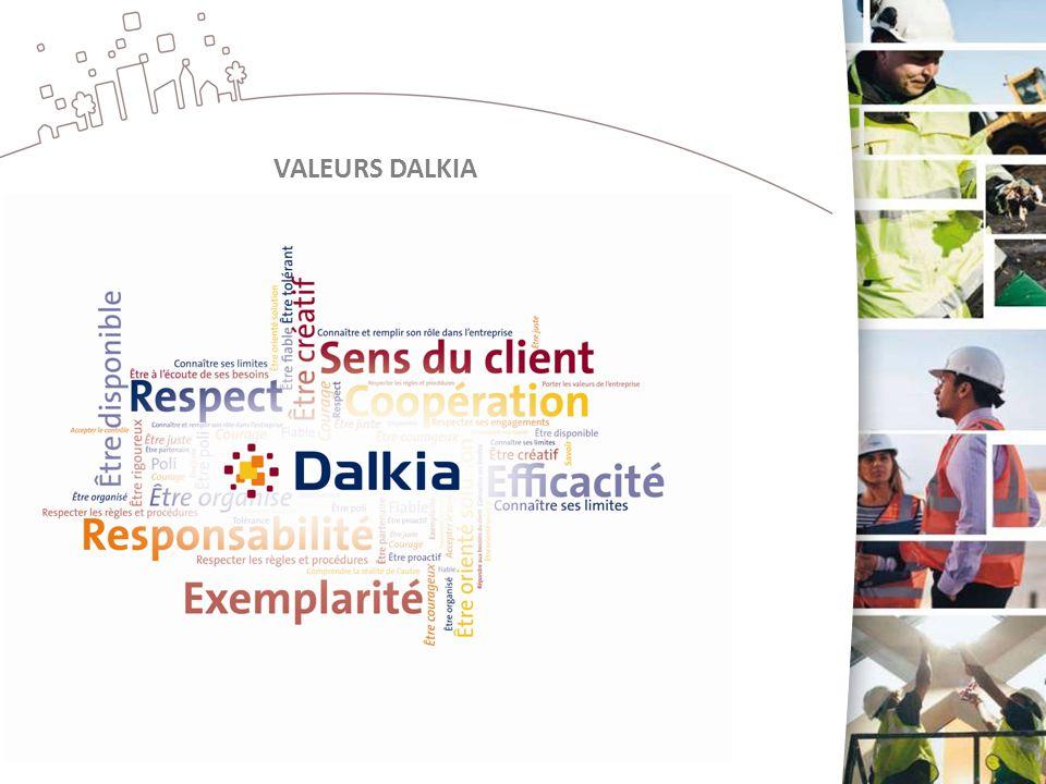 VALEURS DALKIA
