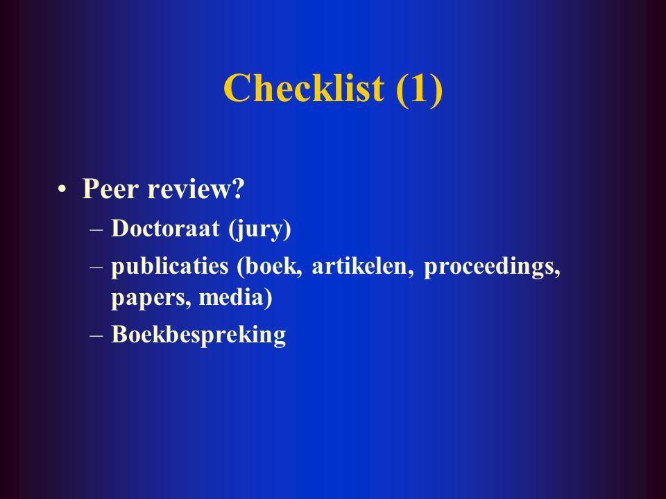 II. Kritisch lezen van het onderzoek