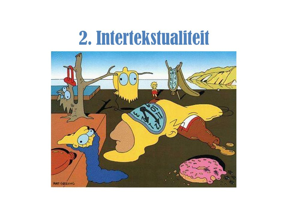 2. Intertekstualiteit