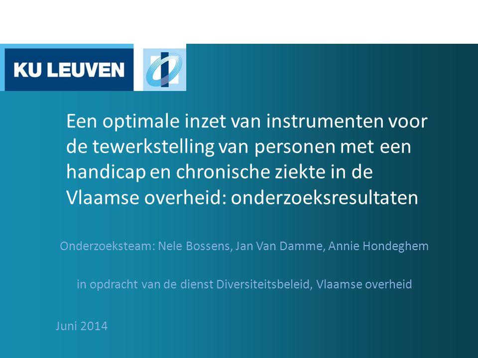 Overzicht  Onderzoeksfasen 1.Conceptueel model 2.Analyse van goede praktijken in Europa 3.Analyse van huidige en toekomstige beleidsomgeving in Vlaanderen 4.Analyse van huidige beleid binnen de VO  Conclusies 5.Scenario's 6.Voorstellen voor optimalisering  Algemeen besluit