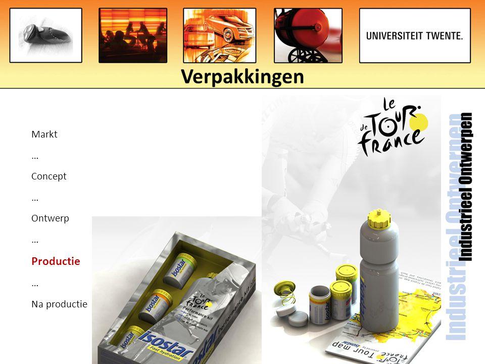 Verpakkingen Markt … Concept … Ontwerp … Productie … Na productie