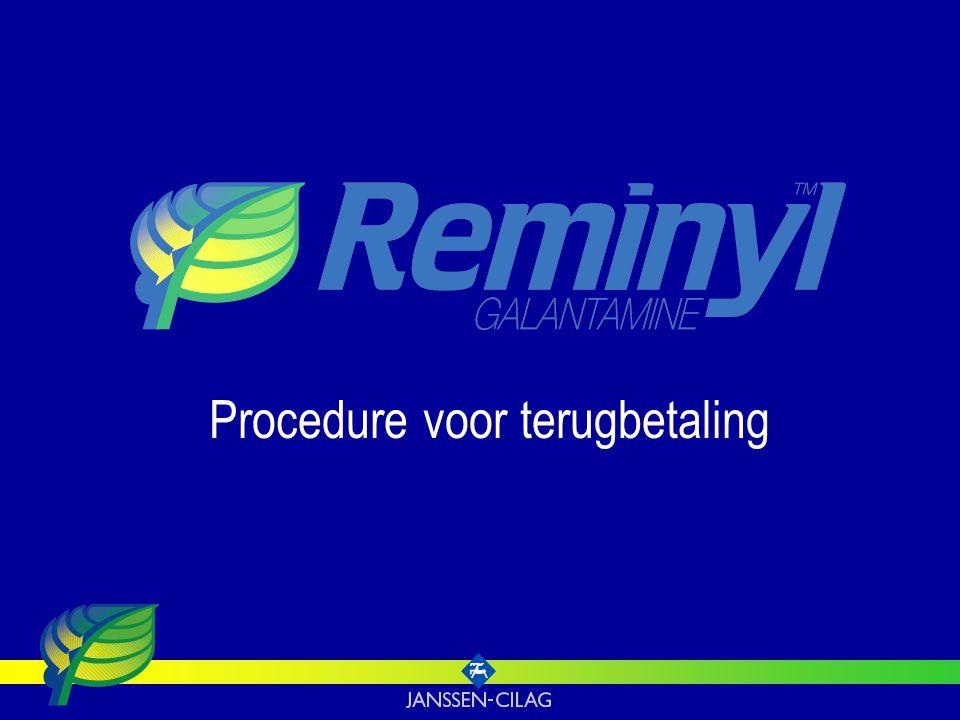 Procedure voor terugbetaling