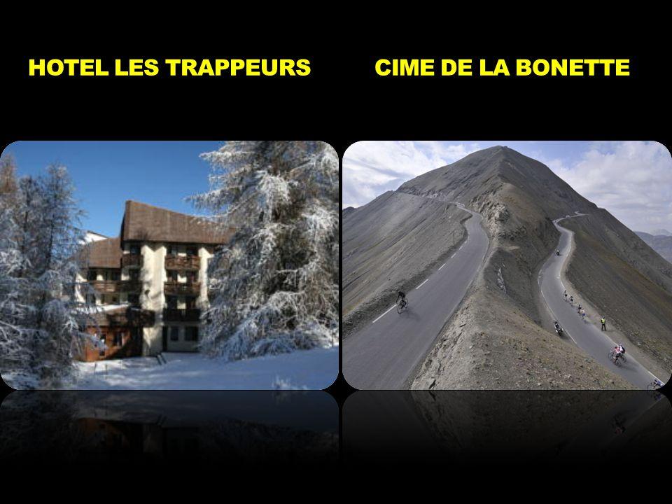 HOTEL LES TRAPPEURS CIME DE LA BONETTE
