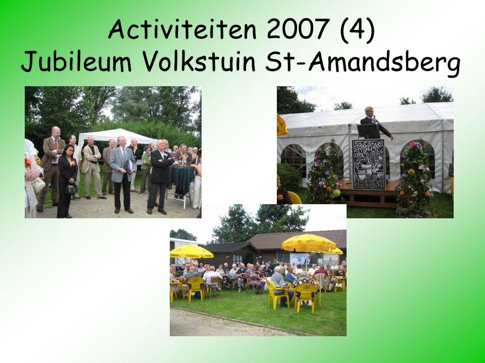 Activiteiten 2007 (4) Jubileum Volkstuin St-Amandsberg