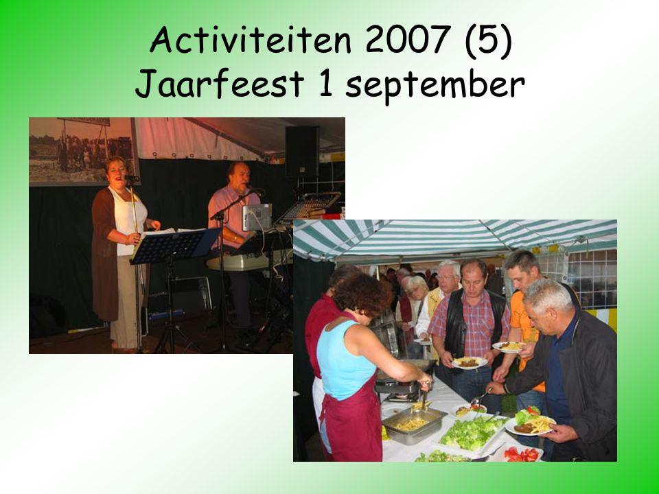Activiteiten 2007 (5) Jaarfeest 1 september