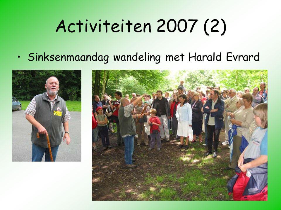 Activiteiten 2007 (2) Sinksenmaandag wandeling met Harald Evrard